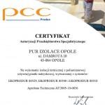 PCC Prodex certyfikat